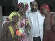 Apresentaçao de CARIÔ no Teatro da UNIME em Lauro de Freitas - Salvador - Bahia - Brasil