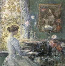 Improvisation by Childe Hassam