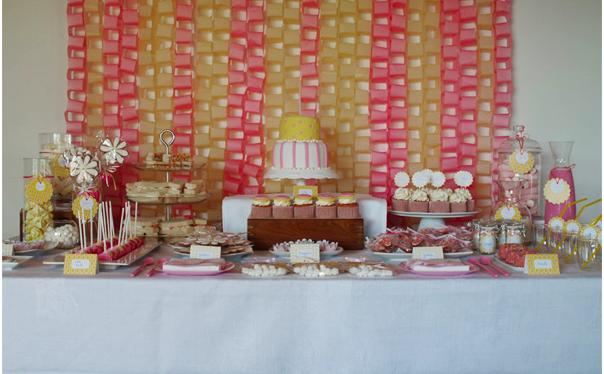 Haciendo mesa de dulces foro organizar una boda bodas for Como decorar mesa de postres para baby shower