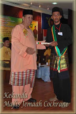 Majlis Penerimaan Watikah Dan Selendang Kekanda