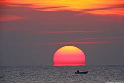 Ηλιοβασίλεμα στον Έβρο