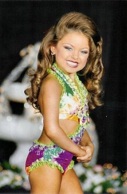 Young Little Girls Pageant