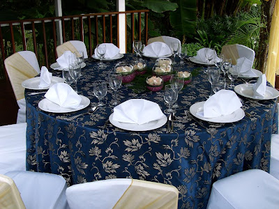 VIP table setting for dining & A Memorable Ride for a Lifetime: Changi Village Hotel Idyllic ...