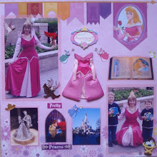 Disney Scrapbook Layout Gallery