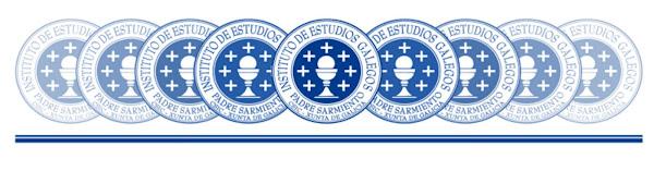 """Instituto de Estudios Gallegos """"Padre Sarmiento"""""""