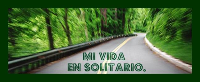 """""""Mi Vida En Solitario"""""""