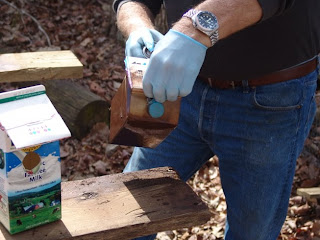 Project PROTHO nest box construction at Audubon's Francis Beidler Forest by Mark Musselman