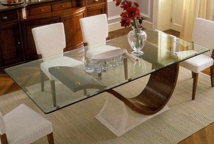 Mesa Sala De Jantar Tampo De Vidro ~ Ideias de decoração de sala com mesa tampo de vidro