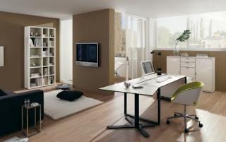Esc´ritório amplo | Ideias decoração Mobiliário