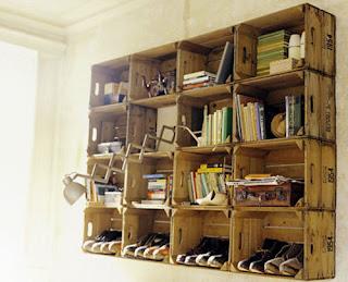 Ideias de decoração mobiliário | estante para livros.