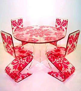ideias decoração mobiliário | mobilias em vermleho