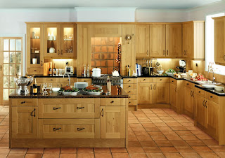 Ideias decoração mobiliário | Cozinha moderna carvalho natural
