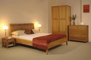 Ideias decoração mobiliáro | quarto de casal moderno carvalho natural.