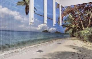 ideias decoração mobiliário | balneário moderno com perspectiva
