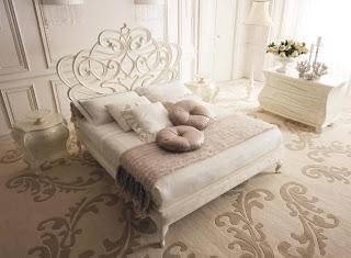 Ideias decoração mobiliário | Cama casal trabalhada
