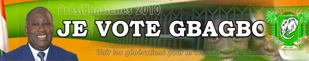 Je vote GBAGBO