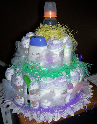 Diaper Cakes Wedding 39Towel 39 Cakes