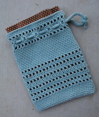 Crochet Round Pouch : ROUND BOTTOM CROCHET BAG PATTERN - Free Crochet Patterns