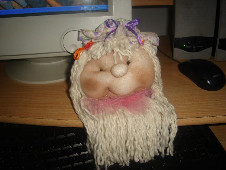 Cara muñeca soft con sombrero 2