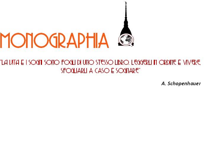 MONOGRAPHIA Q: autori e argomenti