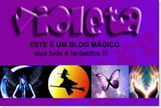 """GRACIAS!!! a """"Las Artesanías de María Adelina"""", por considerar a mi blog, un blog violeta!!!"""
