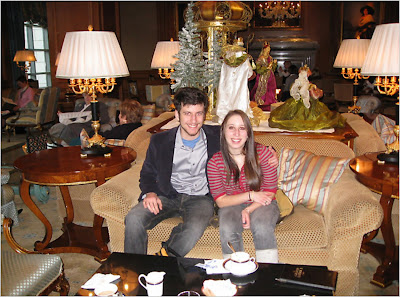 Melissa and her brother, Andrew (2007)