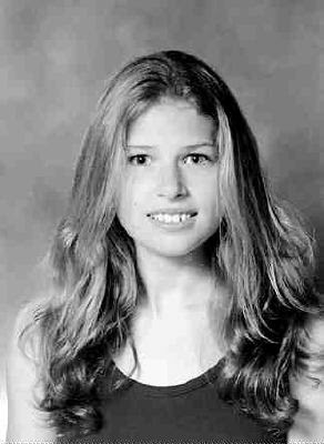 Aimee Moore, before anorexia
