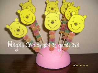 Winnie The Pooh Con Gomitas
