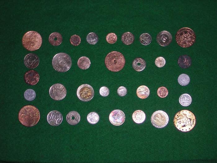 uang kuno jaman belanda berbagai motiv dan tahun serta ukuran