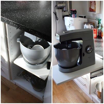 Skap til kjøkkenmaskin ikea