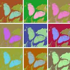 Warholized Butterflies