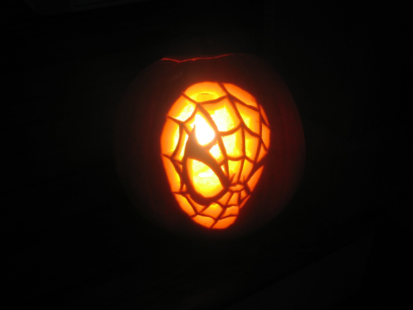 Paper on pumpkin carving