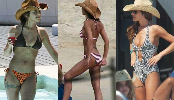 Cheryl cole's bikini's