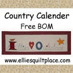 Country Calendar BOM