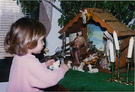 Tori at Christmastime 1994