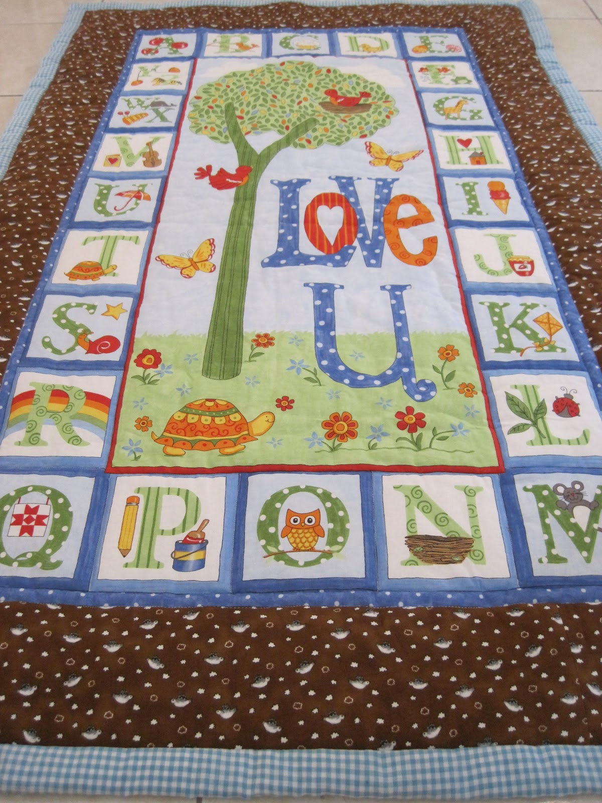 Baby Quilt Patterns Using A Panel : Quilt patterns arts and crafts