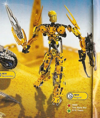 Bionicle Through The Ages: Mata Nui - Growth Spurt