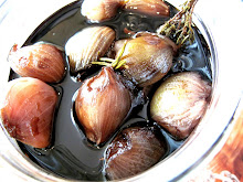 Herby Shallots in Balsamic Vinegar