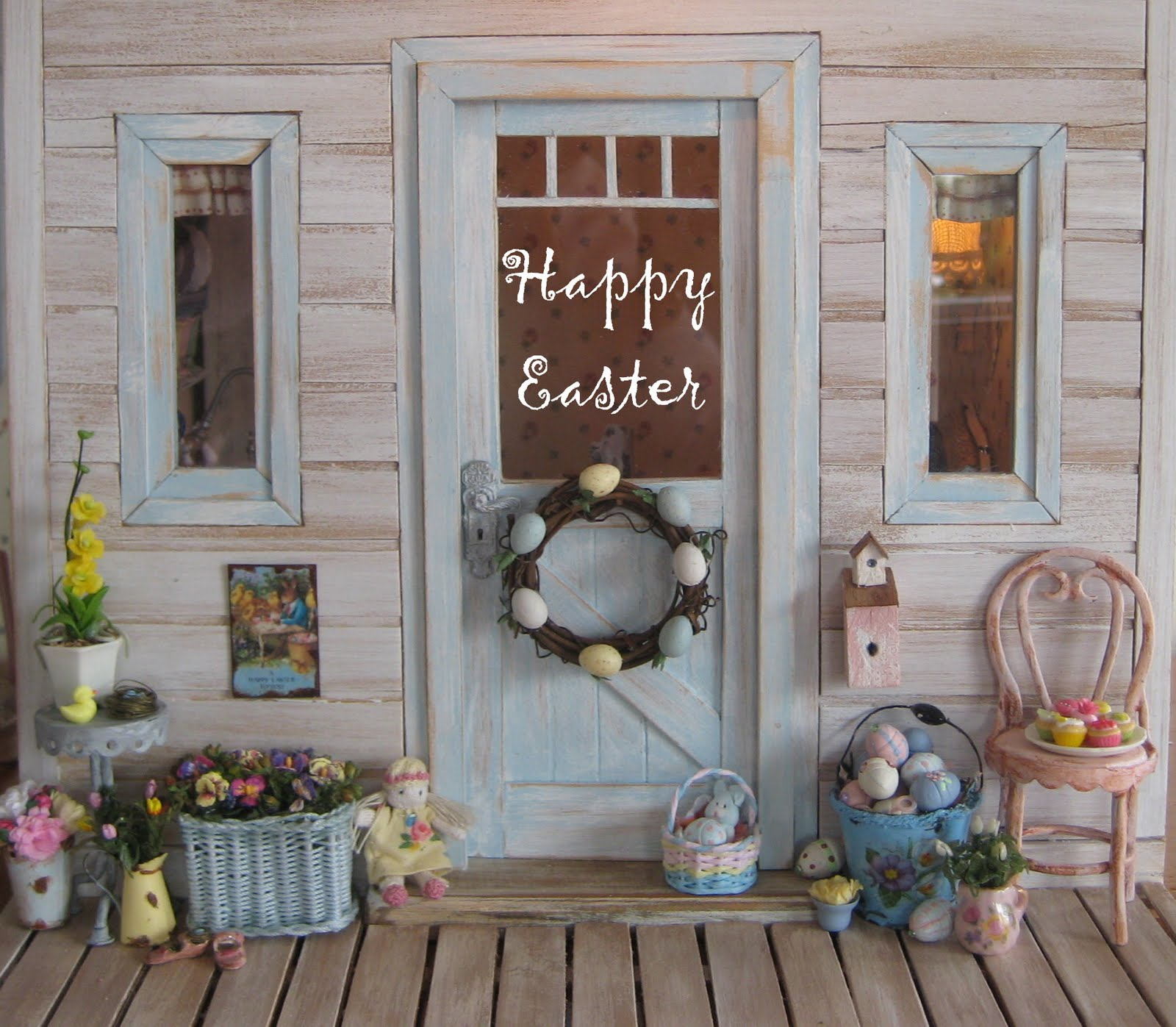 Liberty biberty happy easter for Easter decorations ideas for the home