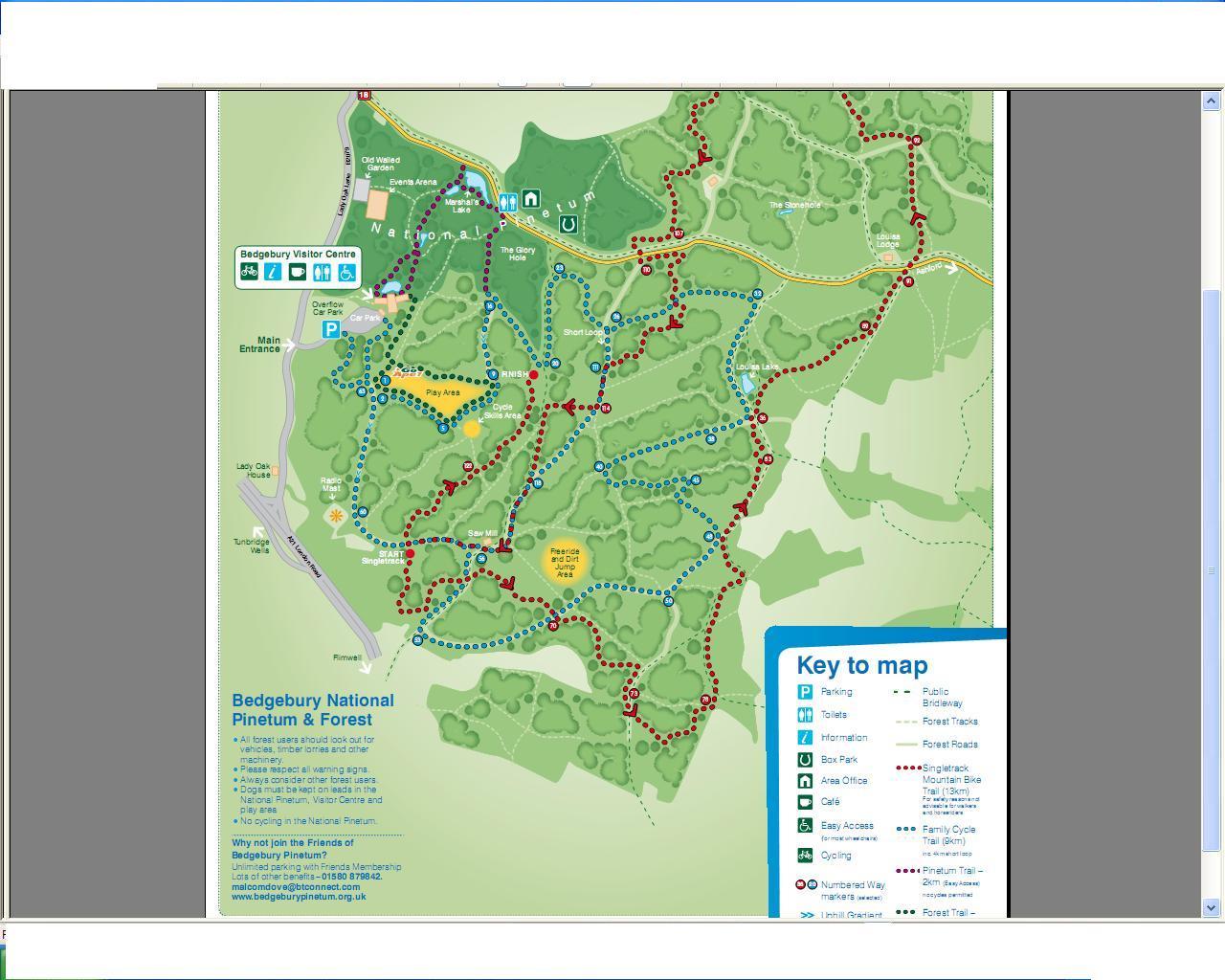 RAMBLING IN KENT BY TWISDEN : BEDGEBURY FOREST