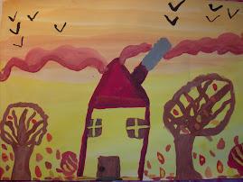 Toamna in culori calde, by Maria