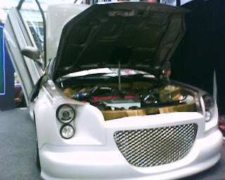 autoblcktrough car modified