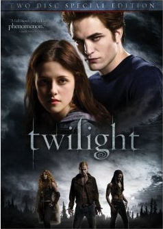 Twilight DVD Cover