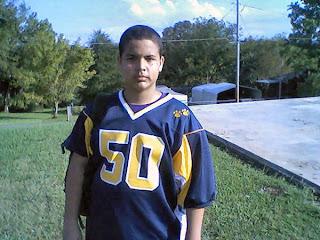 Evan's Football Jersey