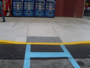 Handicapped slope