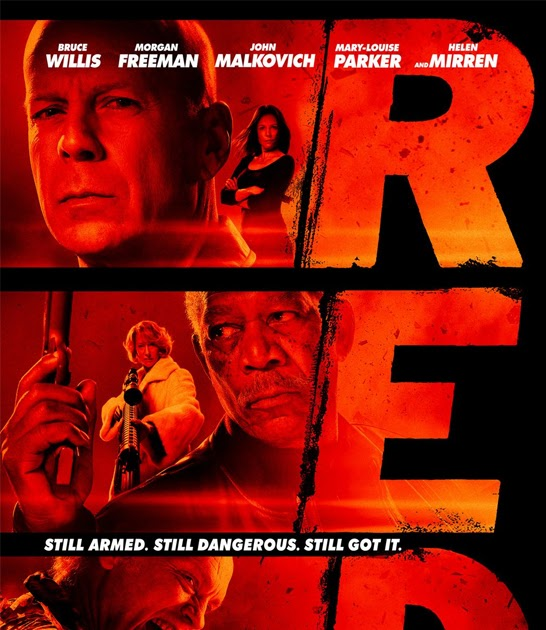 FREE IS MY LIFE: MOVIE REVIEW: Red