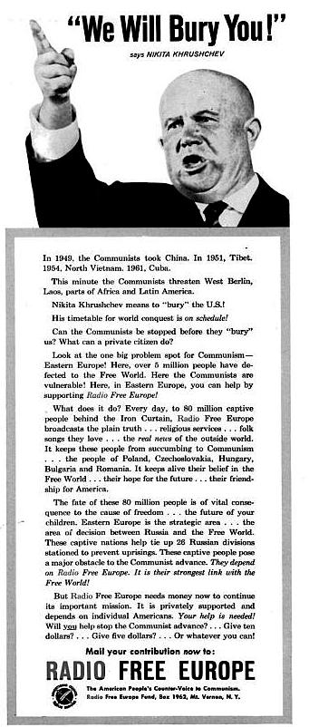 khrushev america communist