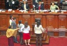El Congreso suspende leyes de la selva