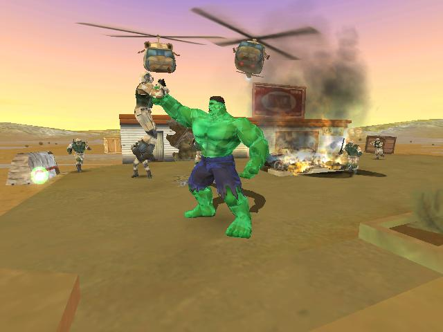The Hulk Game 2