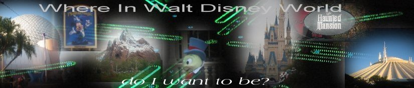 Where in WDW do I want to be?